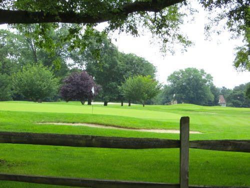 Springhaven Golf Club is a block away...