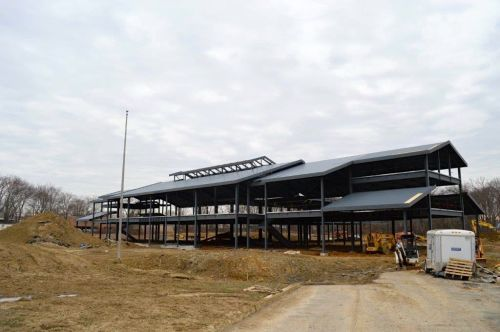 Blue Ribbon Award-winning Coeburn Elementary School's new facility in construction
