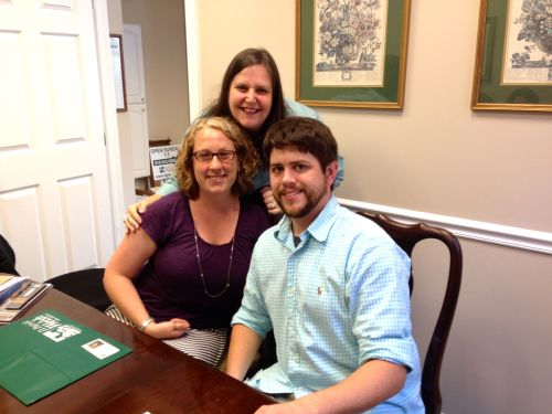I'm so proud to have helped this happy young couple purchase their first home today!