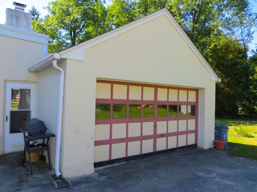 The attached 2 car garage is a rare luxury in Swarthmore!