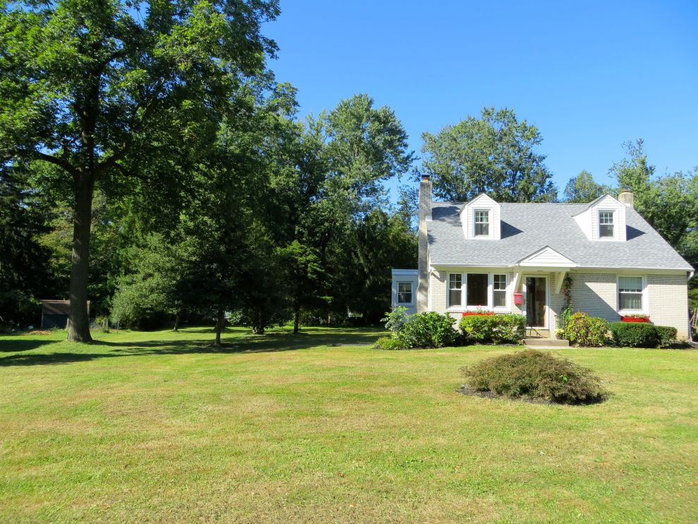 On the left side of this photo, you can see the additional lot that makes 344 Haverford such an oasis!