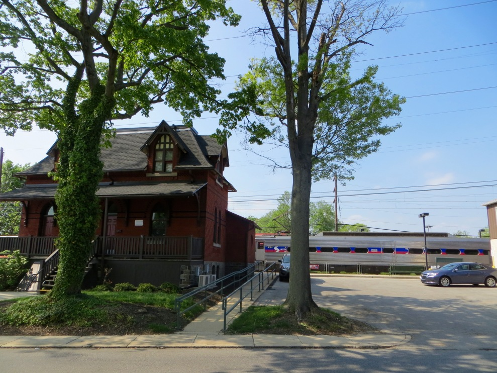 ...the historic Morton train station with service to Philadelphia.