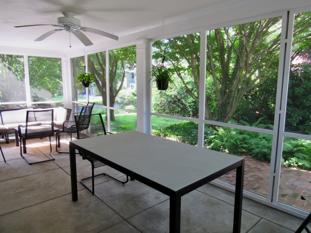 24. screened porch