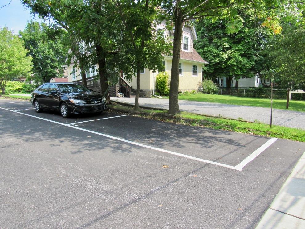 10.5 parking spot