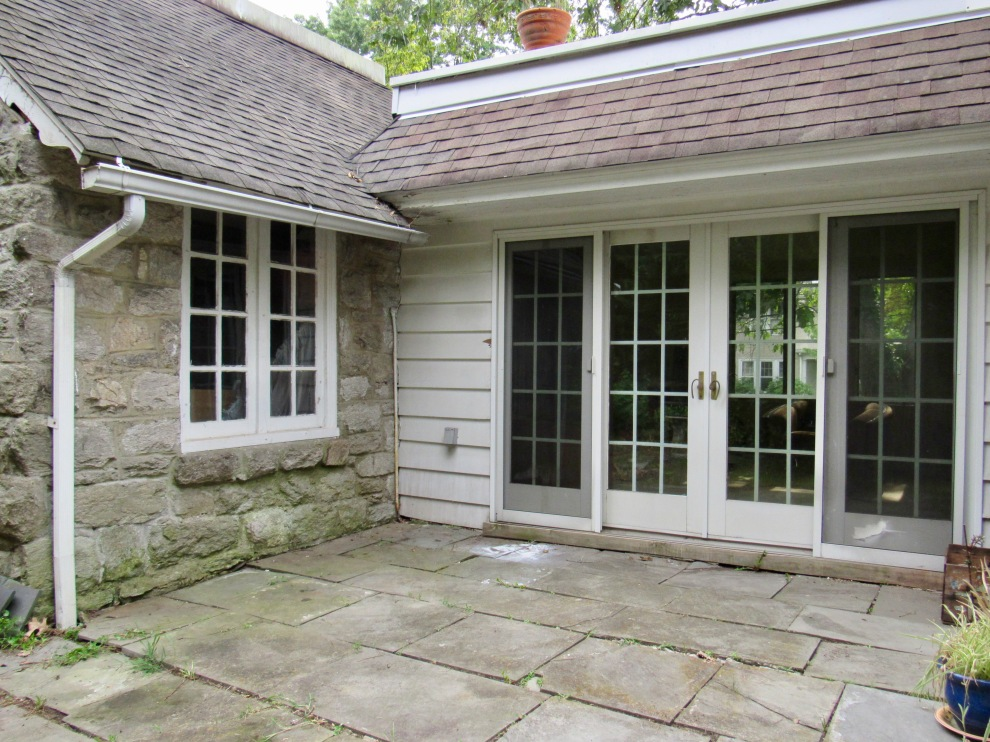 17. Rear patio