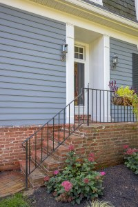 2. Front steps