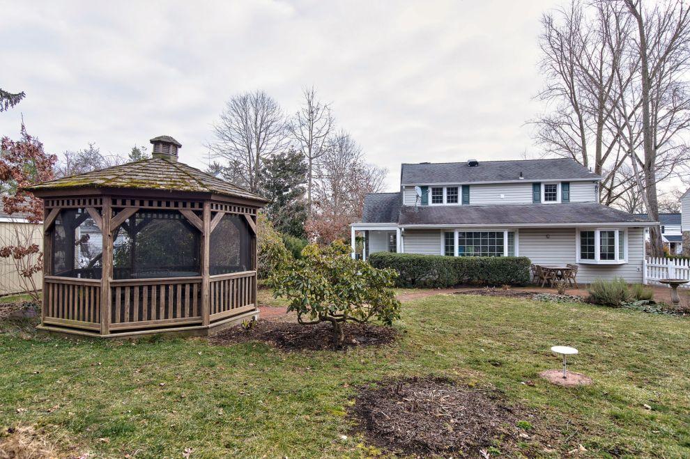 35. Backyard and screened pavilion